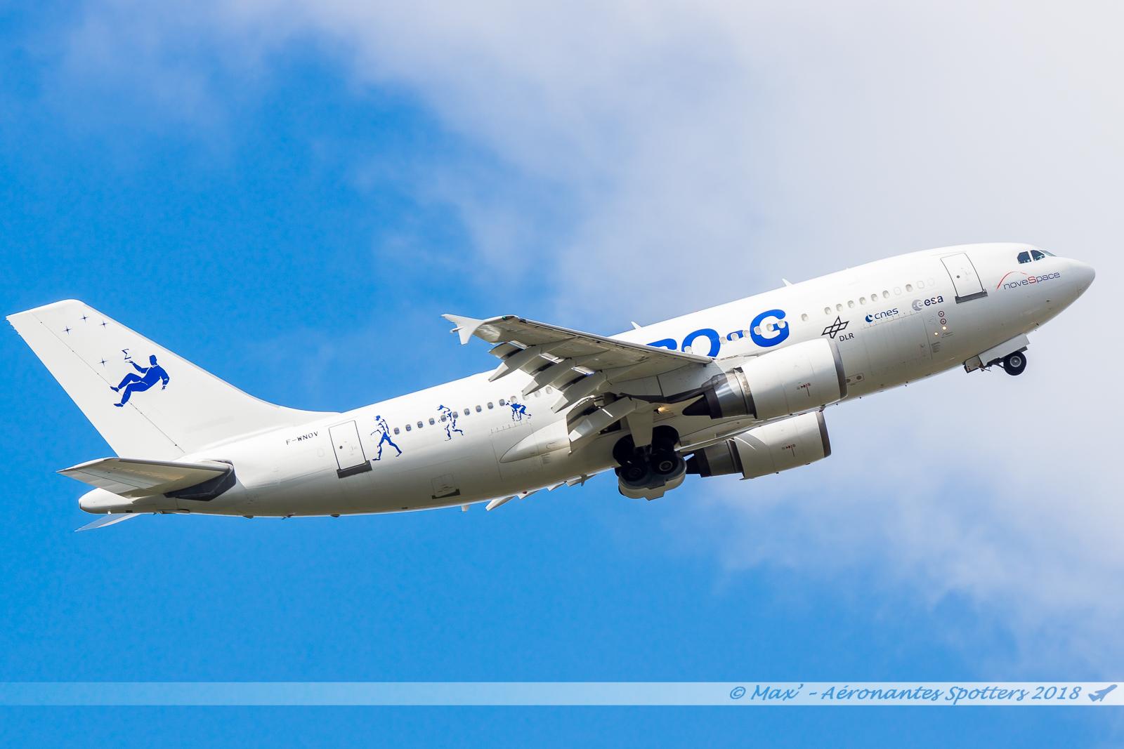 20/02/2018] Airbus A310 (F-WNOV) Zéro G 18022011363423197615571076