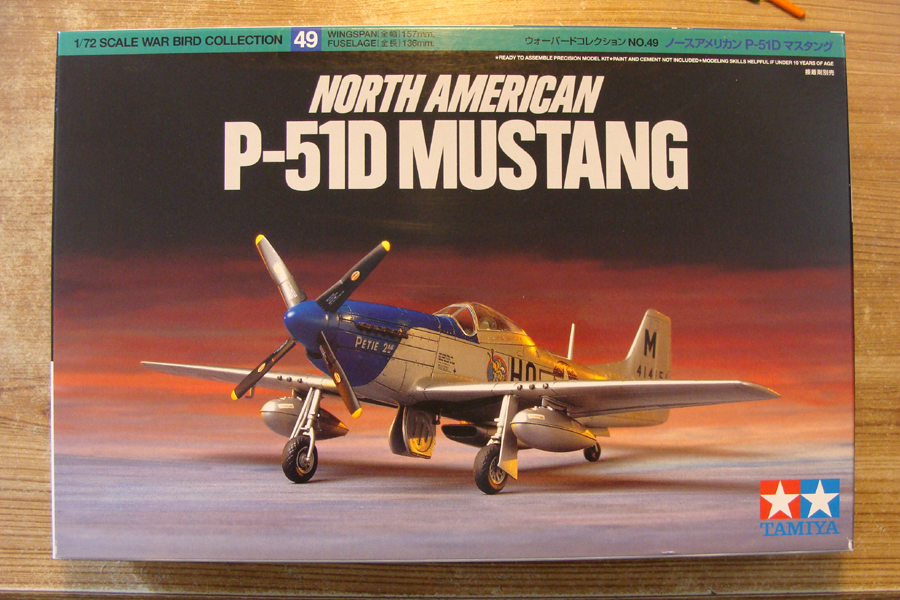 P-51D-25-NA 6 1/72ème - Tamiya 18022705380923822515583451