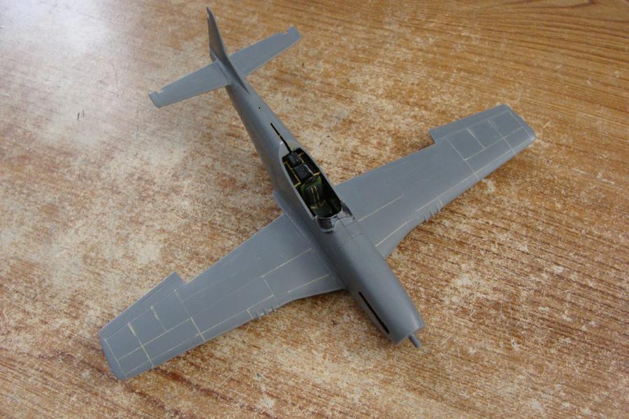 P-51D-25-NA 6 1/72ème - Tamiya 18022705384423822515583458