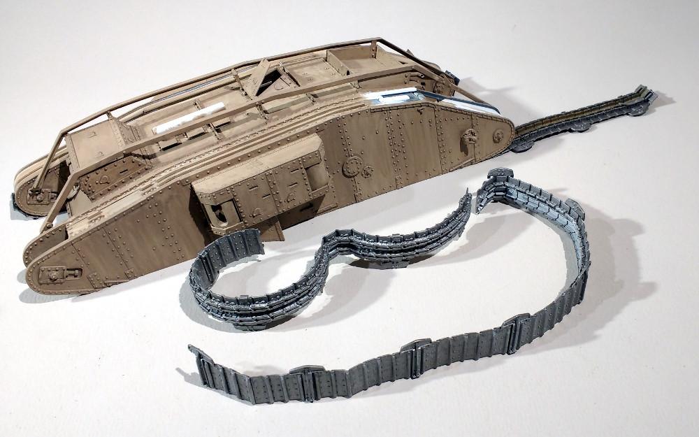 Tank MarkIV un mix Ehmar/Takom au 1/35 18022809431823099315587174