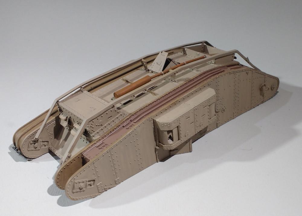 Tank MarkIV un mix Ehmar/Takom au 1/35 18022809432223099315587176