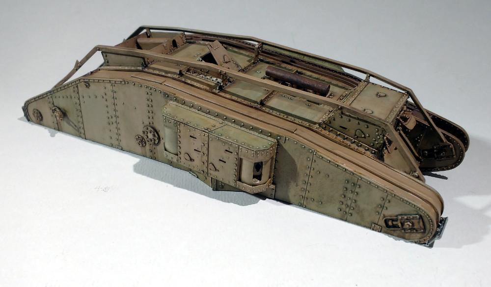 Tank MarkIV un mix Ehmar/Takom au 1/35 18030111544123099315589635