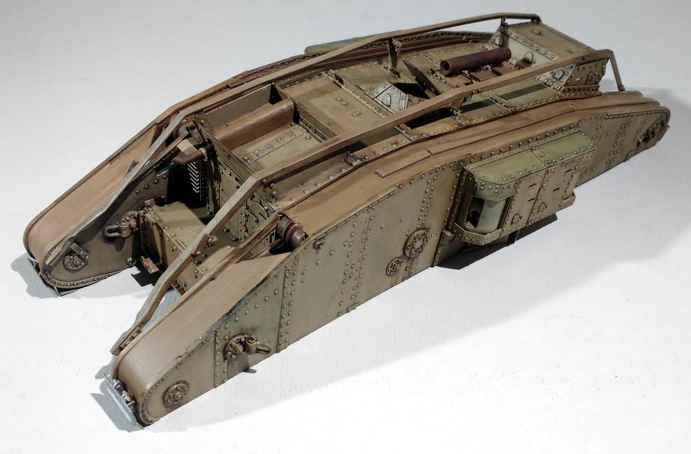 Tank MarkIV un mix Ehmar/Takom au 1/35 18030111544323099315589636