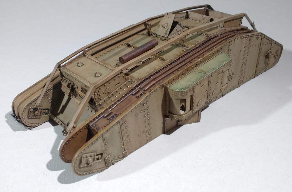 Tank MarkIV un mix Ehmar/Takom au 1/35 18030111544723099315589638