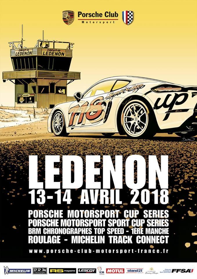 Porsche Motorsport Sport Cup Series 2018 ( post unique) 1803031143016452915593163