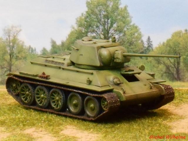 T34/57 1/72 maquette UM 1803050705155625615597110
