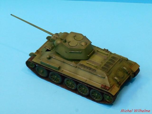 T34/57 1/72 maquette UM 1803050706285625615597119