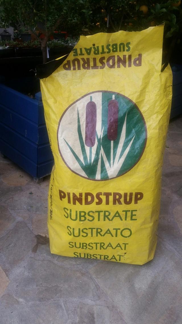 Substrat Pindstrup. 18030608321119712015599057