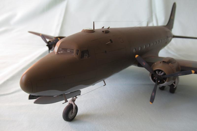 Douglas C-54A - 1/72ème - Revell 18030703330823822515600177