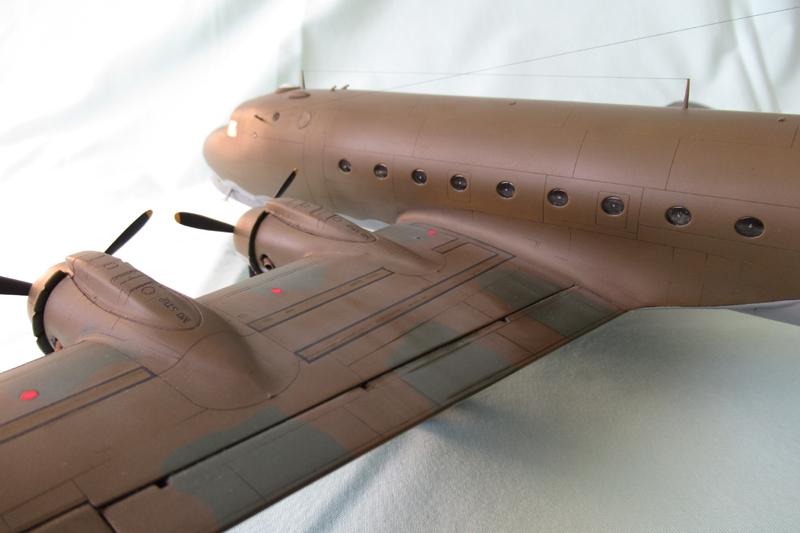 Douglas C-54A - 1/72ème - Revell 18030703331123822515600179