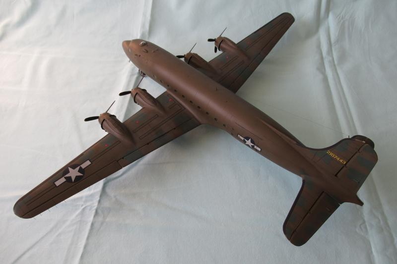 Douglas C-54A - 1/72ème - Revell 18030703331423822515600180