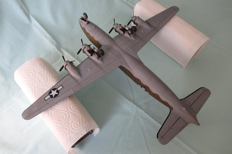 Douglas C-54A - 1/72ème - Revell 18030703331723822515600181