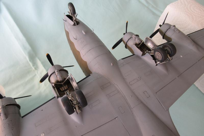 Douglas C-54A - 1/72ème - Revell 18030703332023822515600182