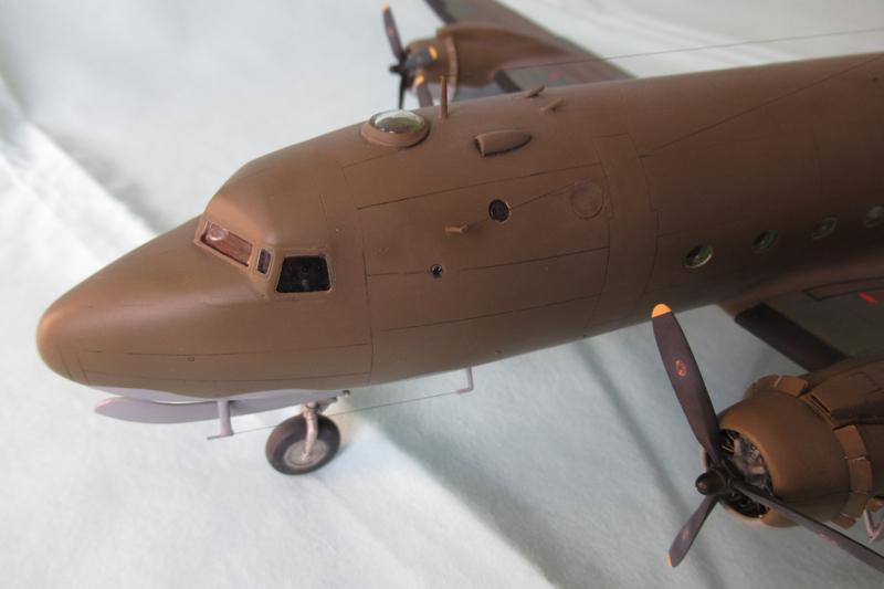 Douglas C-54A - 1/72ème - Revell 18030703332223822515600183