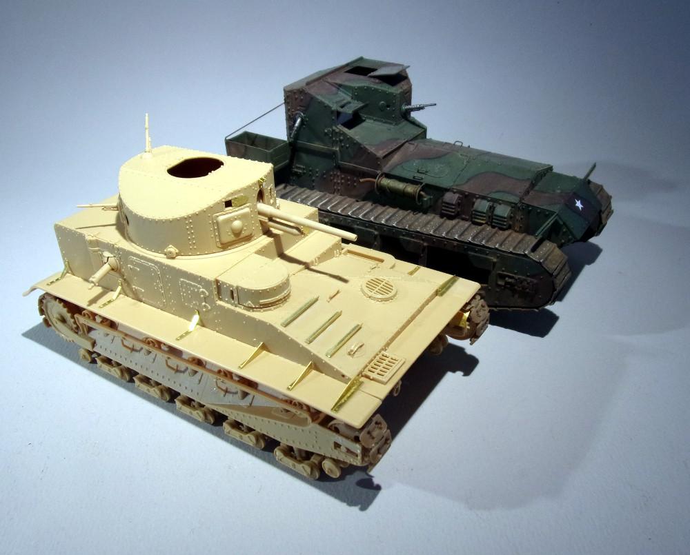 Vickers Medium MarkI (Hobby Boss 1/35) 18031010420223099315607209