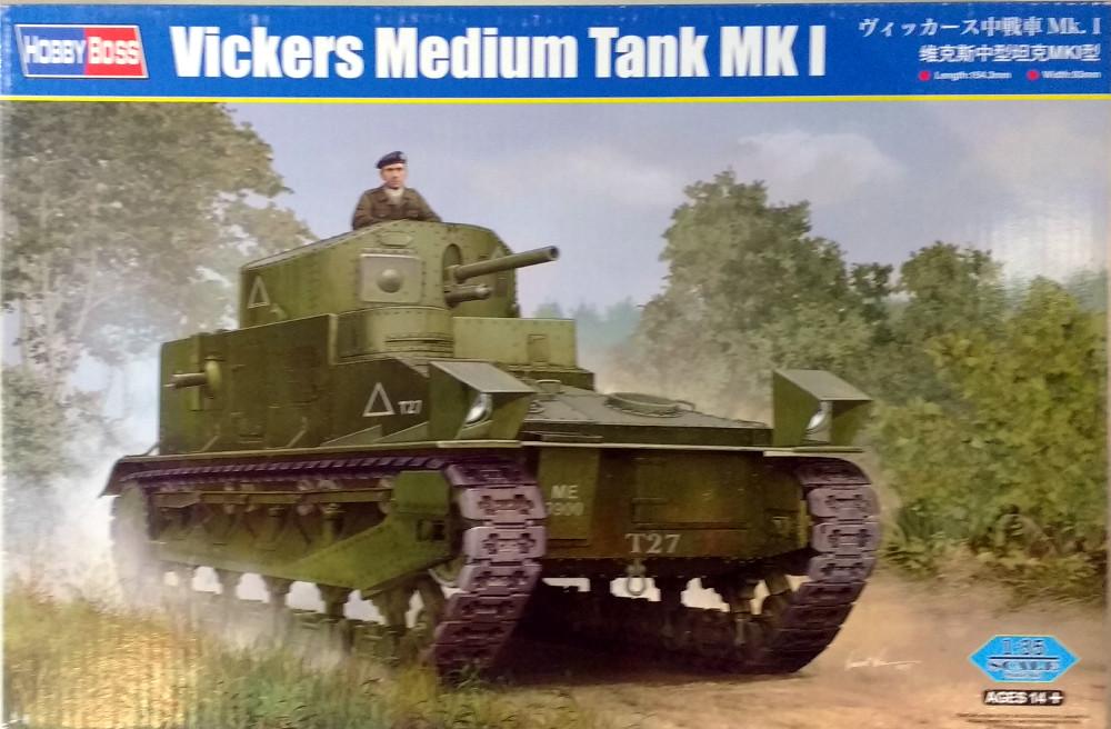 Vickers Medium MarkI (Hobby Boss 1/35) 18031012114223099315605384