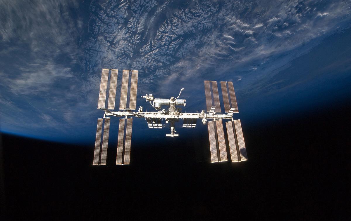 Légende de la photo : La station spatiale internationale, bientôt exploitée par des privés? En tous les cas, c'est le souhait de la Maison-Blanche - Photo Nasa