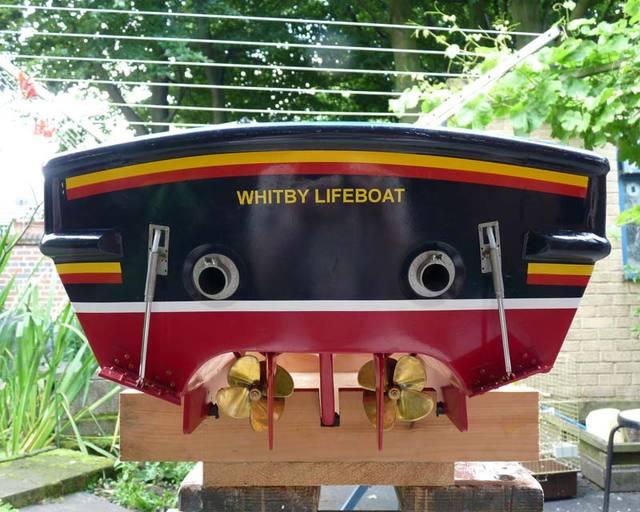 TRENT Lifeboat - MODEL SPLIPWAY 18031210555316507315609381