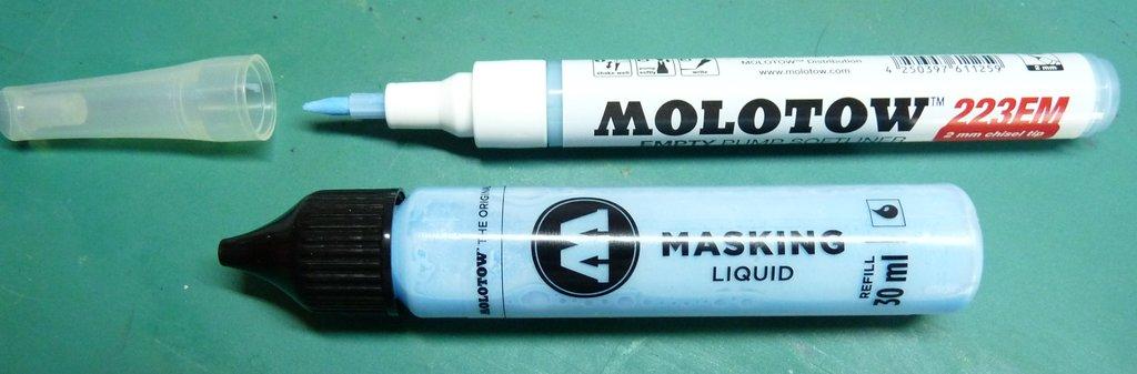 TUTO une méthode précise pour le masquage pendant la peinture 18031305260023134915611279