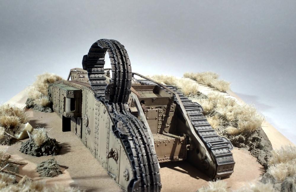 Tank MarkIV un mix Ehmar/Takom au 1/35 18031510221123099315615274