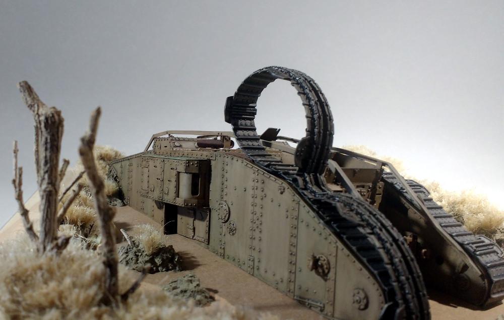 Tank MarkIV un mix Ehmar/Takom au 1/35 18031510221123099315615275