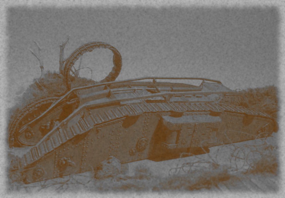 Tank MarkIV un mix Ehmar/Takom au 1/35 18031901052923099315620371