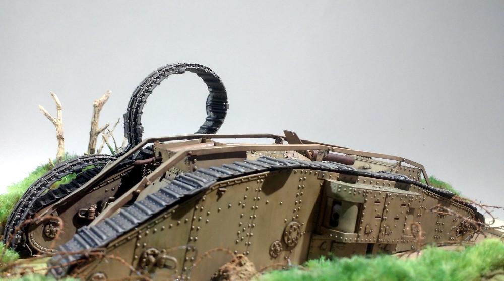 Tank MarkIV un mix Ehmar/Takom au 1/35 18031901053423099315620374