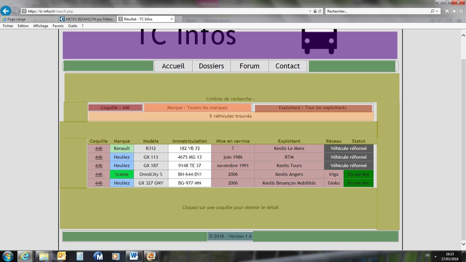 TCinfos Recherche
