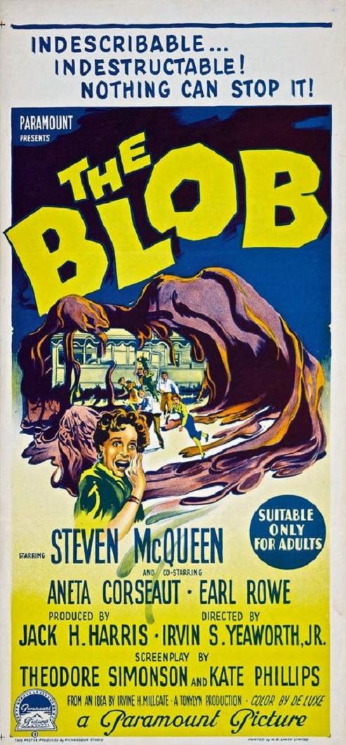 POSTEROÏDE - The Blob dans Cineteek 18032009204415263615622168