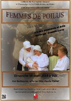 Femmes de poilus - Affiche Femmes de Poilus