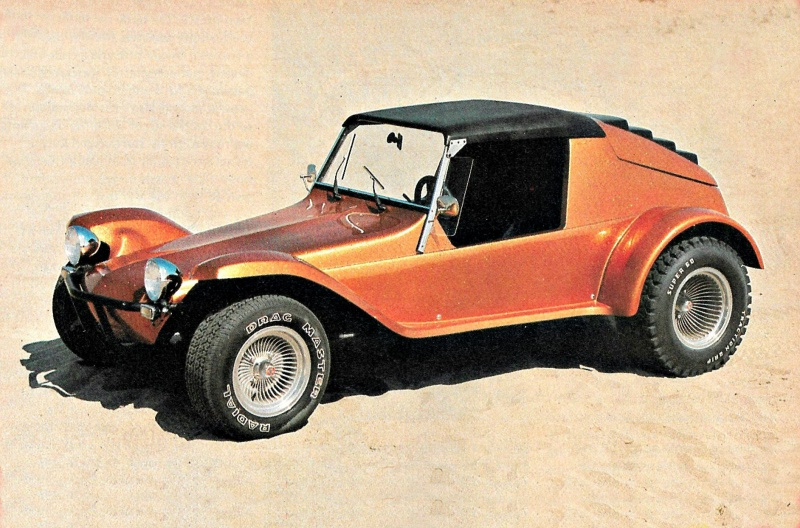 Corsair cars_Stripper buggy on the beach