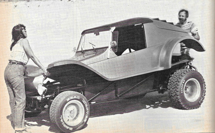 Corsair cars_Stripper buggy enlève le haut