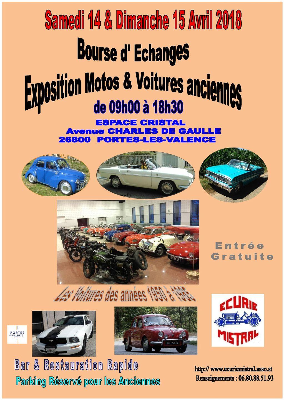 [26] 14 et 15/04/2018 - Bourse expo Espace Cristal de Portes 18033106342623632315641588