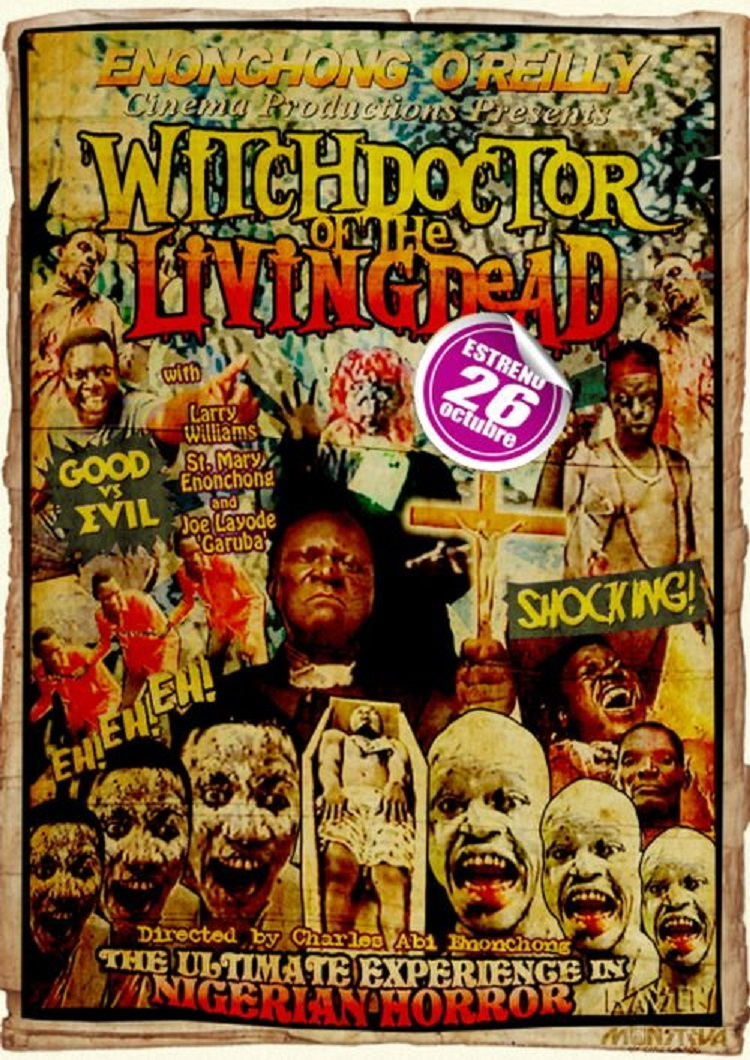 L'AFFICHE : WITCHDOCTOR OF THE LIVING DEAD (1985) dans CINÉMA 18040108230415263615643931