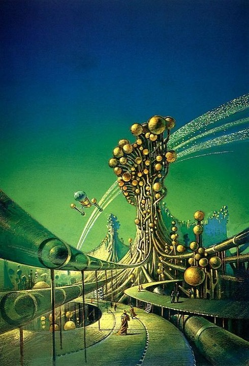 ALIEN'ART - Bruce Pennington dans Alien'art 18040609160215263615653570