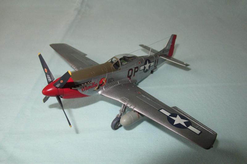 P-51D-25-NA 6 1/72ème - Tamiya 18040806053723822515657598