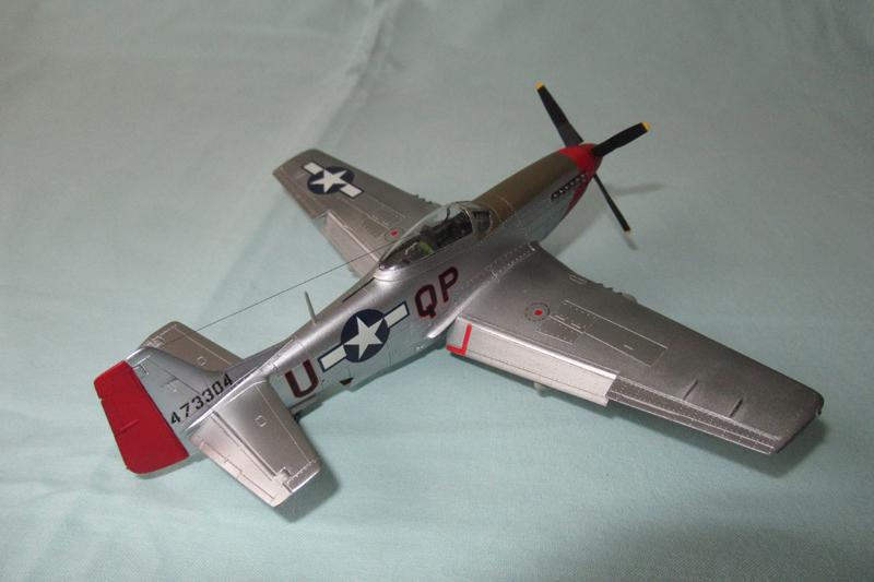 P-51D-25-NA 6 1/72ème - Tamiya 18040806054523822515657600
