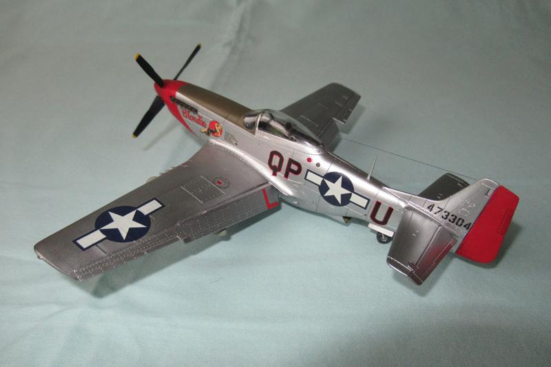 P-51D-25-NA 6 1/72ème - Tamiya 18040806054923822515657601