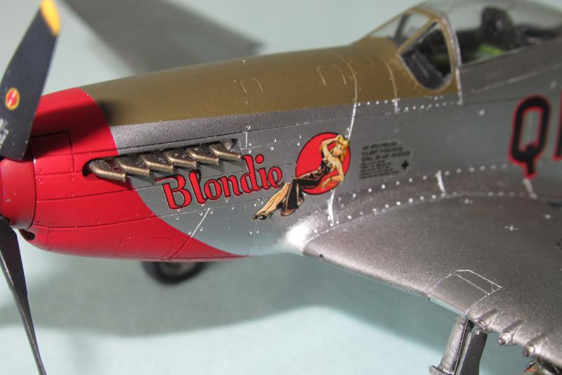 P-51D-25-NA 6 1/72ème - Tamiya 18040806055423822515657602