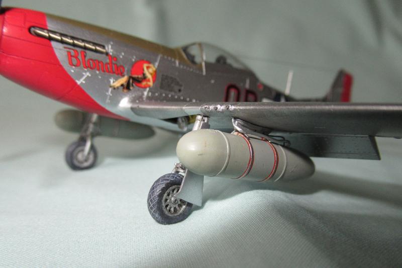 P-51D-25-NA 6 1/72ème - Tamiya 18040806055823822515657603