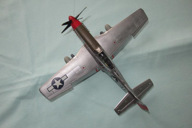 P-51D-25-NA 6 1/72ème - Tamiya 18040806060223822515657604