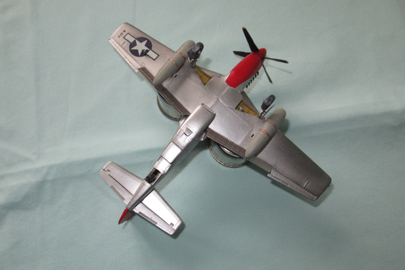 P-51D-25-NA 6 1/72ème - Tamiya 18040806060523822515657605