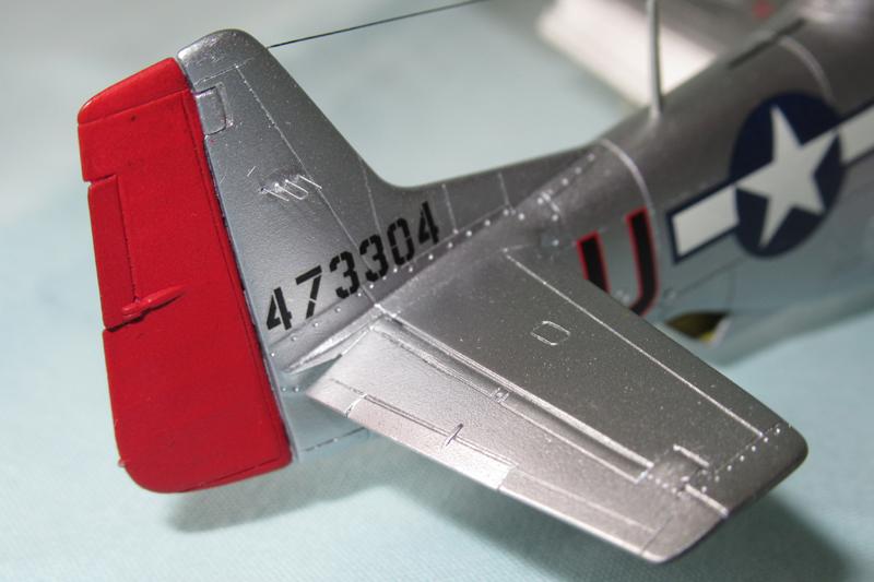 P-51D-25-NA 6 1/72ème - Tamiya 18040806060923822515657606
