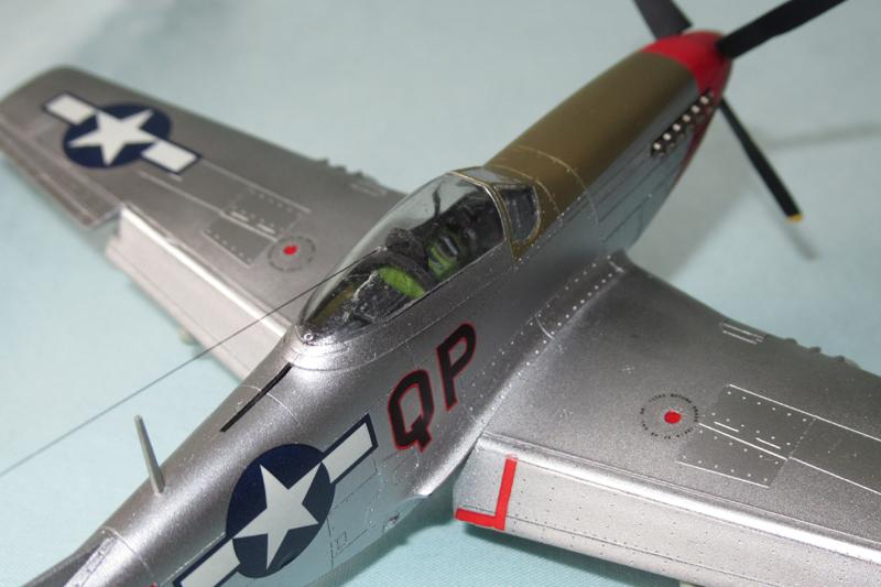 P-51D-25-NA 6 1/72ème - Tamiya 18040806061323822515657607