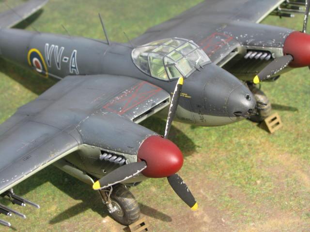 De Havilland Mosquito FB.VI 235 Sqn Monogram 1/48  18040909300023669015660208
