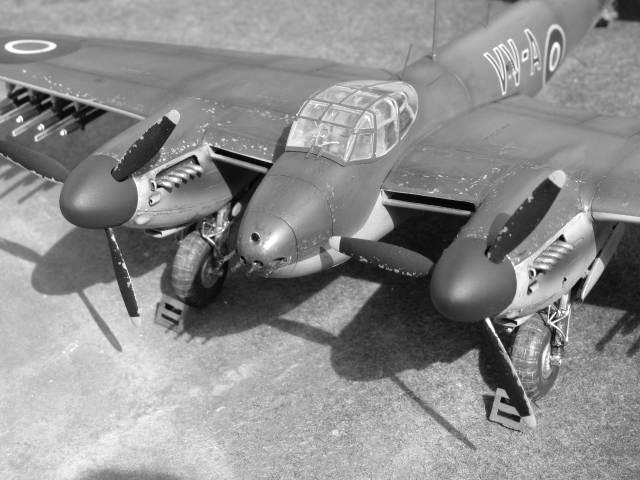 De Havilland Mosquito FB.VI 235 Sqn Monogram 1/48  18040909302023669015660212
