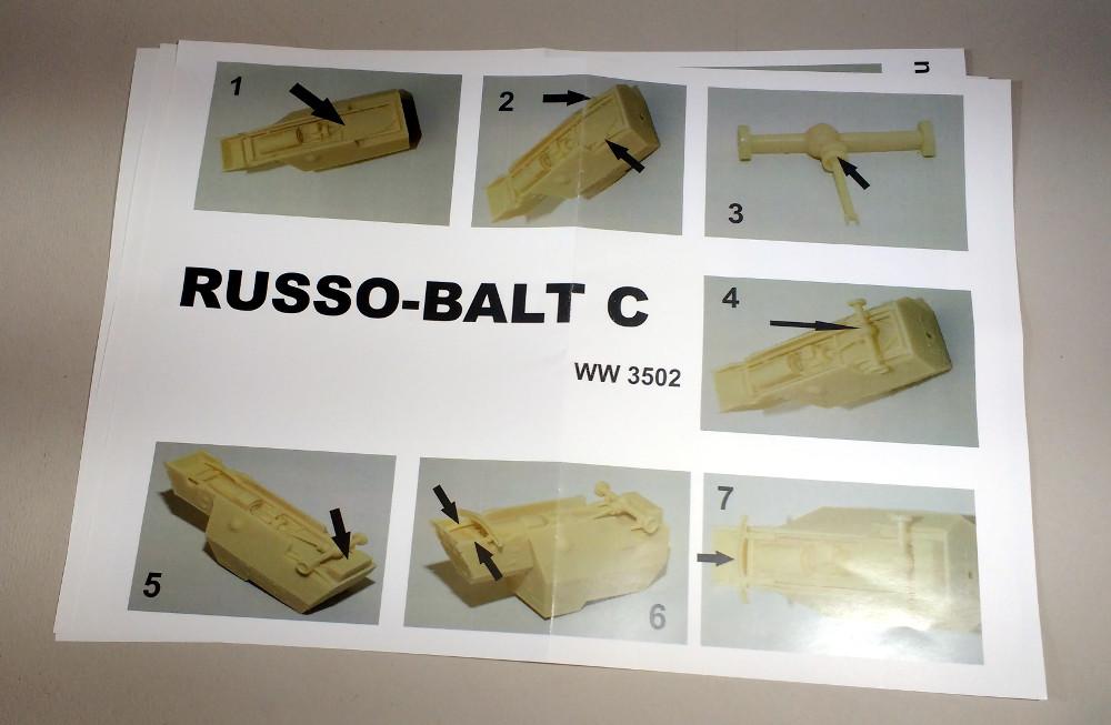 Automitrailleuse Russo Balt typeC 1914 au 1/35 (WW modelstudio) 18041106242423099315662899