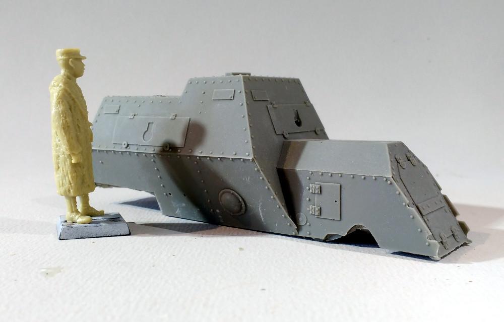 Automitrailleuse Russo Balt typeC 1914 au 1/35 (WW modelstudio) 18041106242623099315662900