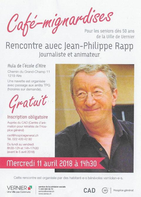 2018 : Rencontre avec Jean-Philippe Rapp 1804110655531858215662969