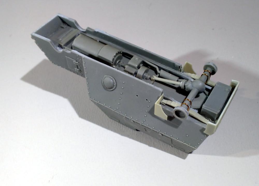 Automitrailleuse Russo Balt typeC 1914 au 1/35 (WW modelstudio) 18041207565623099315664620